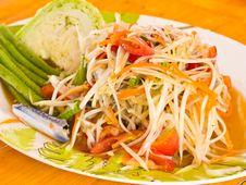 Free Papaya Salad Stock Images - 20838064