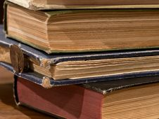 Free Pile Of Old Books Stock Photos - 20838093