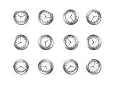 Free Clocks Royalty Free Stock Photo - 20838325