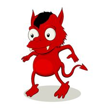 Little Red Devil Stock Photos
