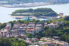 Free Outlying Island In Hong Kong With Many Houses Stock Photos - 20838973