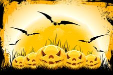Grunge Halloween Background Royalty Free Stock Photos