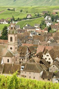 Free Typical Alsace Village. France Royalty Free Stock Images - 20839099