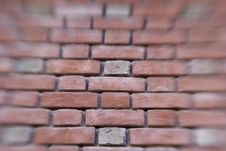 Brick Wall Blurred Stock Photos