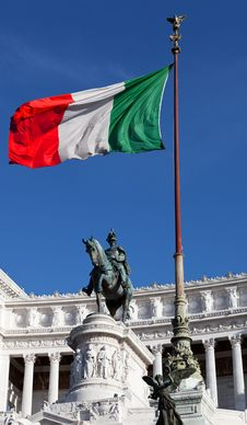 Free Italian Flag Royalty Free Stock Images - 20839779