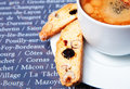 Free Biscotti With Coffee Stock Photos - 20843533