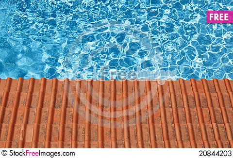 Free Waterpool And Tiles Stock Photos - 20844203