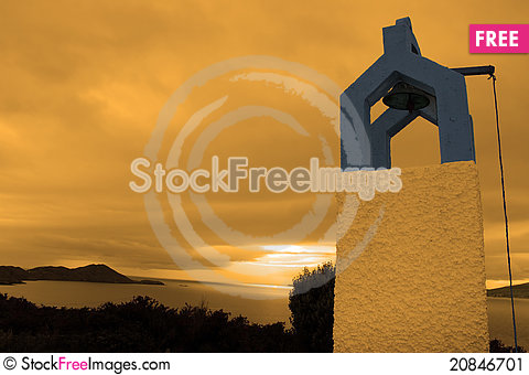 Free Bell Tower At Sunset Stock Image - 20846701