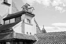 Free Beautiful Architecture At Bran Castle Royalty Free Stock Image - 20840126