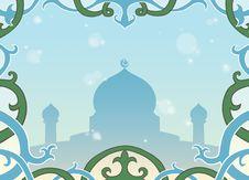 Free Muslim Greeting Card Royalty Free Stock Images - 20840229