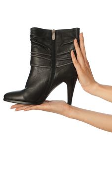 Fetish Boots Stock Photography