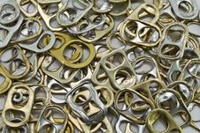 Free Metal Ring Pulls Stock Image - 20840741