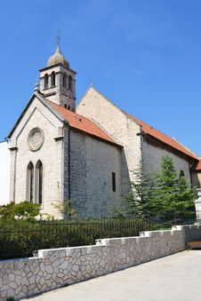 Gothic Church In Sibenik Stock Photography