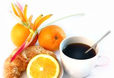 Free Hot Coffee At Noon Stock Image - 20841661