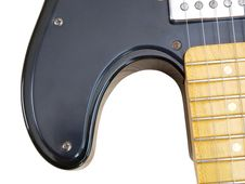 Free Old Electric Guitar Stock Photography - 20843382