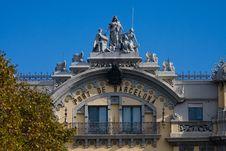 Port Of Barcelona. Royalty Free Stock Image