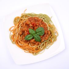 Free Spaghetti Bolognese Royalty Free Stock Images - 20844359