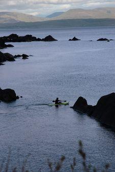 Free Lone Kayaker Royalty Free Stock Photography - 20844387