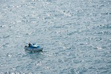 Free Fisherboat On Ocean Stock Photography - 20844432