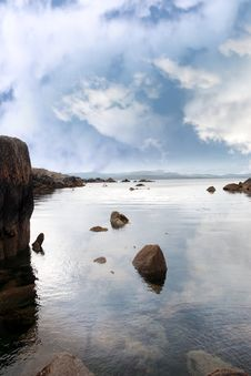Free Tranquil Coastal Kerry View Stock Photography - 20844612