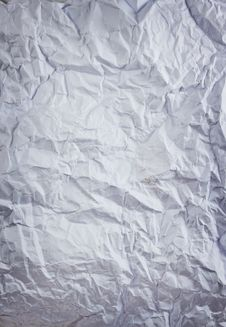 Free Crumpled Paper Stock Photography - 20844782