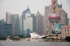 Shanghai Financial Area Royalty Free Stock Photography