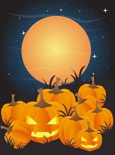 Free Halloween Background Royalty Free Stock Photos - 20845418