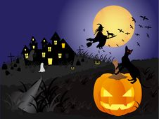 Free Halloween Background Stock Photos - 20845443