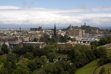 Free Historic Edinburgh Royalty Free Stock Photo - 20845495