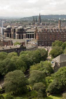 Free Historic Edinburgh Royalty Free Stock Photo - 20845525