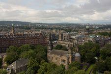 Free Historic Edinburgh Royalty Free Stock Images - 20845539