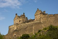 Free Castle Of Historic Edinburgh Stock Photo - 20845670