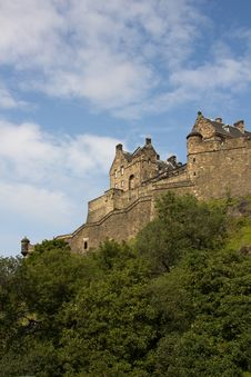 Free Castle Of Historic Edinburgh Stock Photography - 20845682
