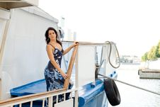 Free Girl Travels By Boat Stock Photos - 20845843