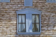 Free Far West Facade Blue Window Detail Stock Images - 20846094