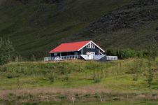 Free Black House In Iceland Royalty Free Stock Photo - 20846445