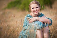 Free Beautiful Woman In Field Stock Photos - 20846833