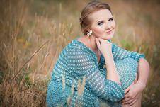 Free Beautiful Woman In Field Stock Photos - 20846883