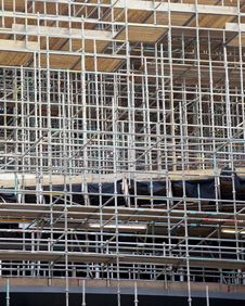 Free Scaffolding Royalty Free Stock Photo - 20847155