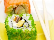Free Sushi Rolls Royalty Free Stock Photography - 20848127