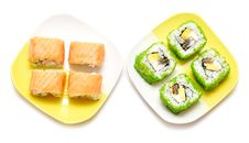 Free Sushi Rolls Royalty Free Stock Photography - 20848217