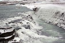 Free Gullfoss Waterfalls In Iceland Stock Photos - 20848373