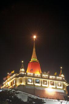 Free Golden Pagoda Or Golden Mount Stock Image - 20849341