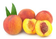Free Ripe Peaches Stock Photography - 20849412