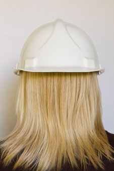 Free White Hard Hat Stock Photo - 20849690