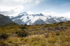 Free Mountain Scape Of Mt. Cook, New Zealand Stock Photography - 20849892