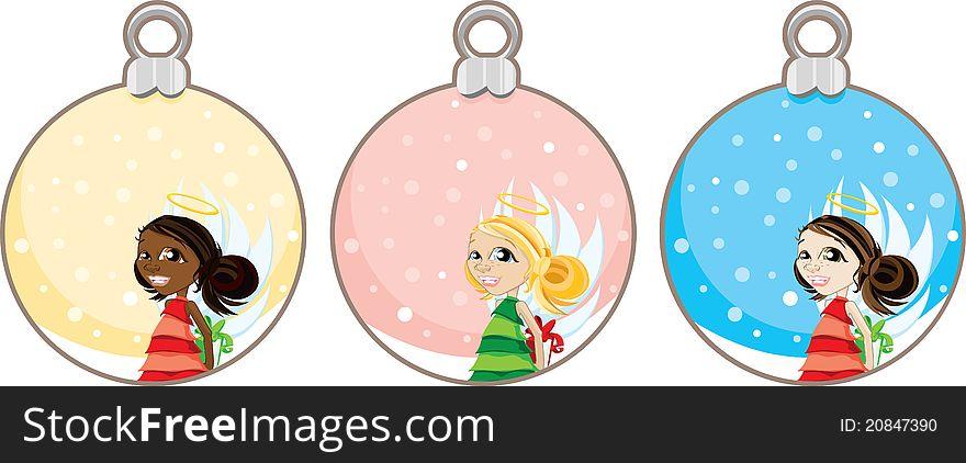 Christmas Angel Gift Tags