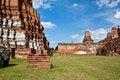 Free Ayuthaya Temple Ruins Thailand Royalty Free Stock Photo - 20853135