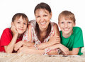 Free Mom And Sons Royalty Free Stock Photos - 20855408