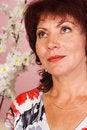 Free Woman At Sofa Royalty Free Stock Image - 20856906